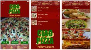 Gianni's pizza mobile app