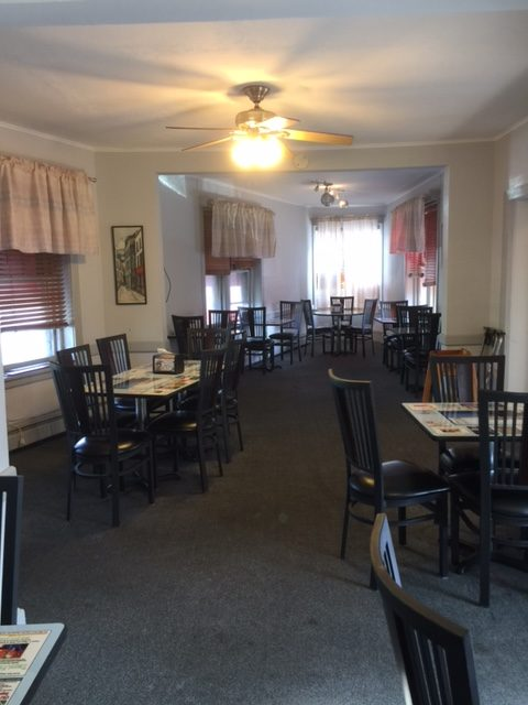 banquet room in Trolley Square, Wilmington